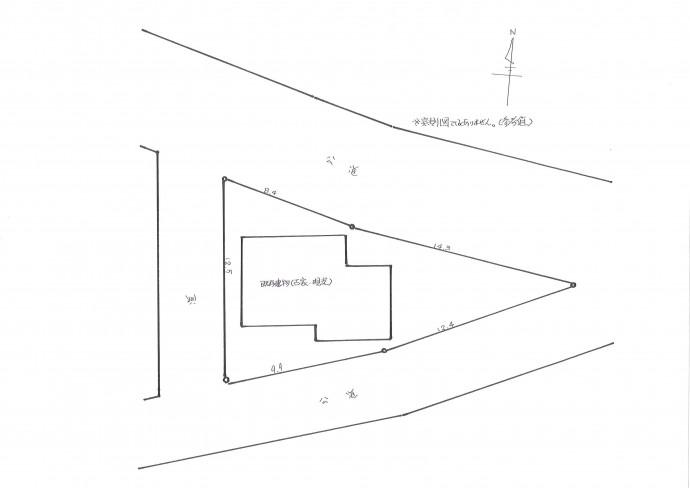 下寺尾土地区画図
